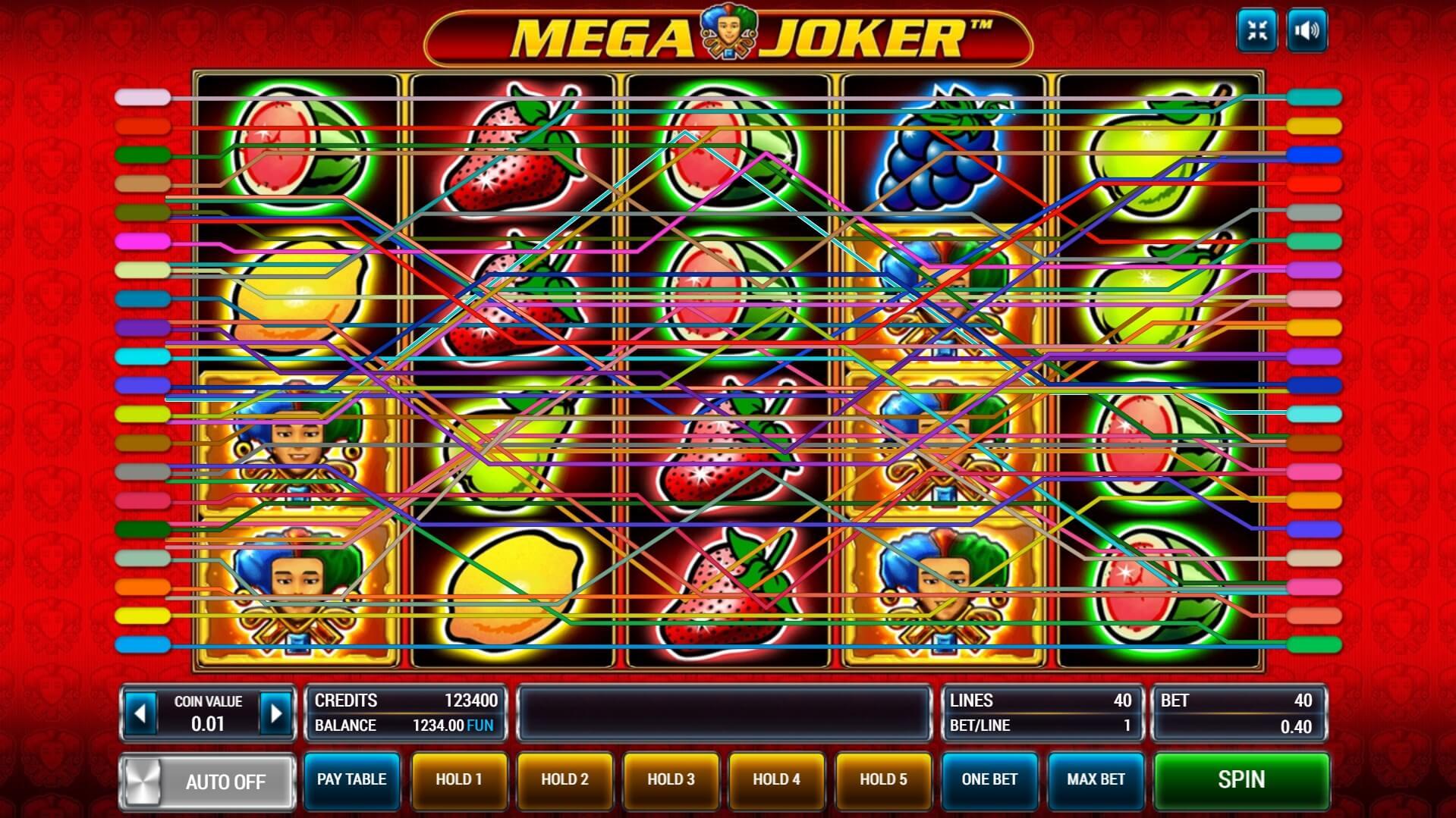 Изображение игрового автомата Mega Joker 2