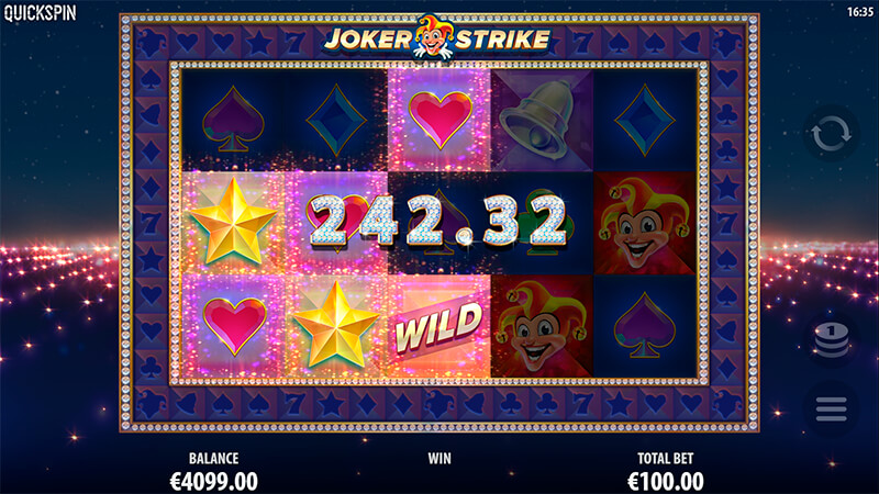 Изображение игрового автомата Joker Strike 2