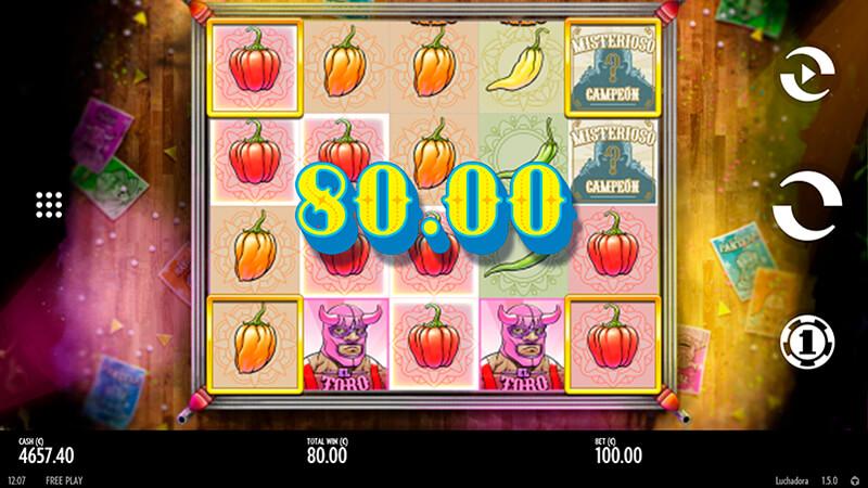 Изображение игрового автомата Luchadora 2