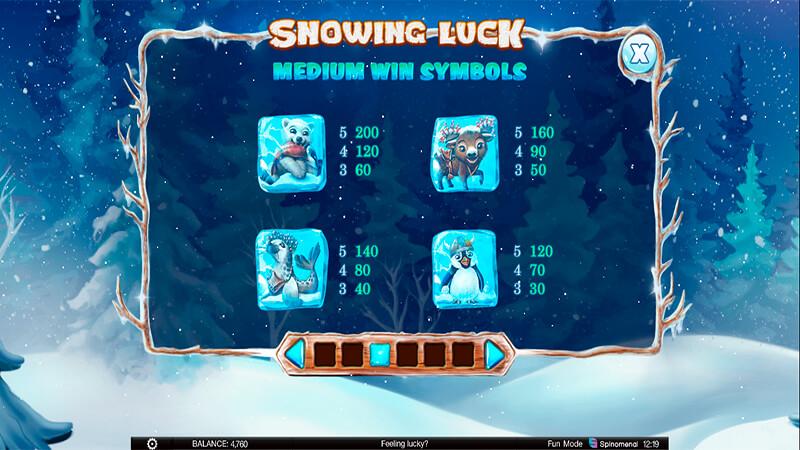 Изображение игрового автомата Snowing Luck 3