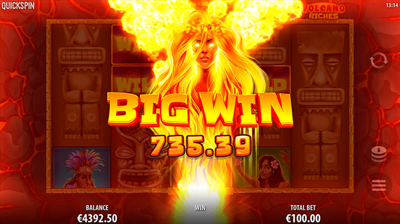 Изображение игрового автомата Volcano Riches 2