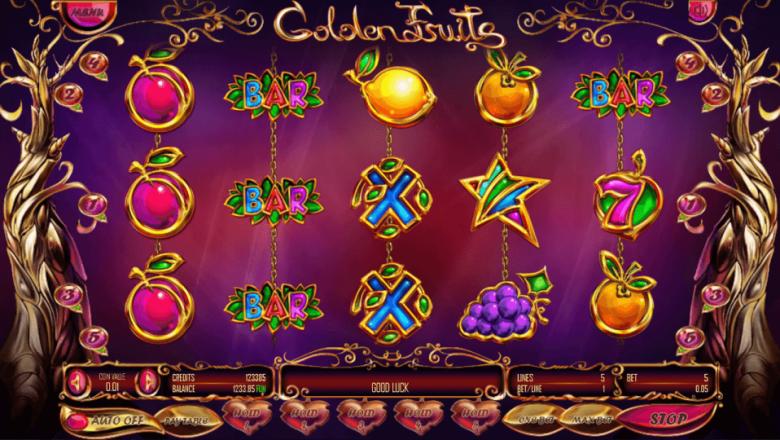 Изображение игрового автомата Golden Fruits 2