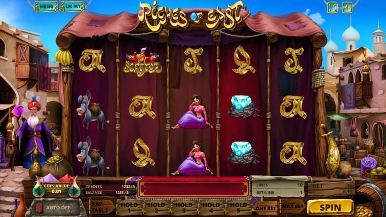 Изображение игрового автомата Riches of East 2