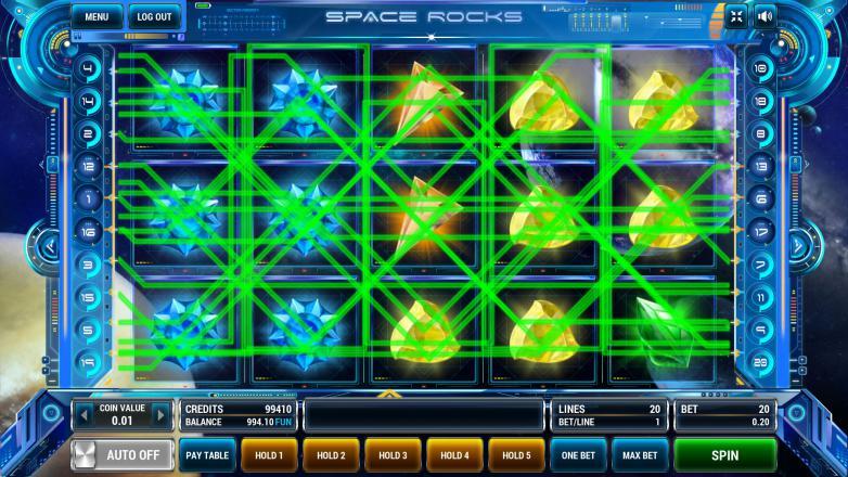 Изображение игрового автомата Space Rocks 1