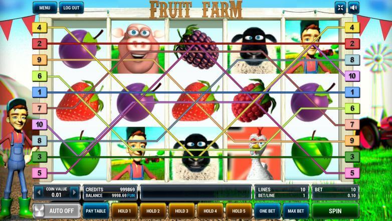 Изображение игрового автомата Fruit Farm 1