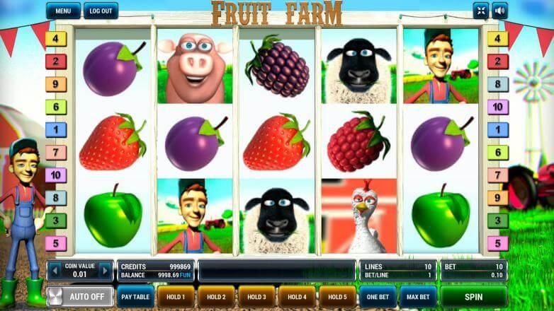 Изображение игрового автомата Fruit Farm 2