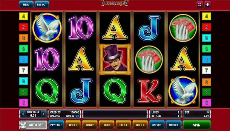 Изображение игрового автомата Illusionist 2